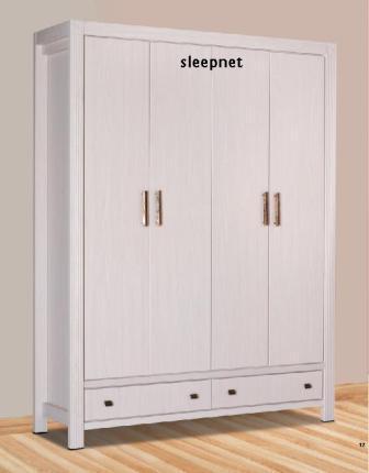 ענק ארון בגדים 4 דלתות דגם 2048 SLEEPNET - SLEEPNET - ארונות בגדים FV-84