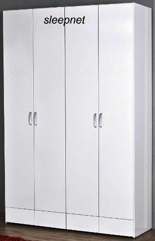 עדכון מעודכן ארון בגדים 4 דלתות דגם 2016 + מגירות SLEEPNET - SLEEPNET - ארונות AS-97