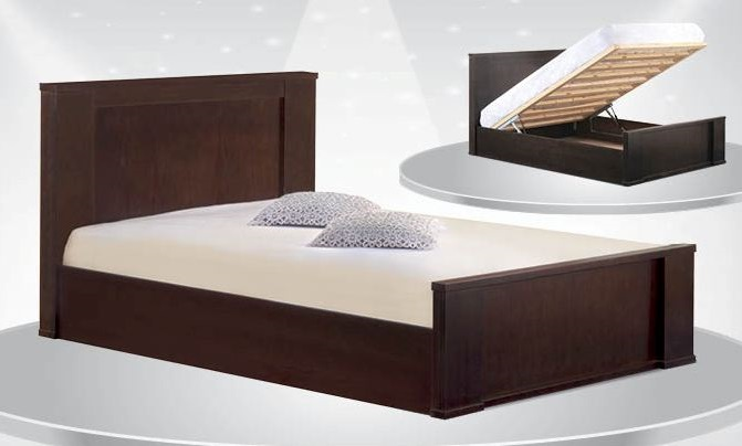 להפליא מיטה זוגית דגם אורן + ארגז מצעים SLEEPNET - SLEEPNET - מיטות מעץ SV-29