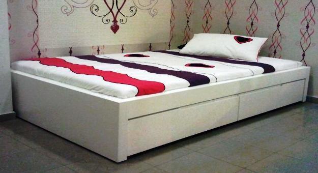 מגה וברק מיטה ברוחב וחצי מעוצבת דגם אלון +מיטה נפתחת ומגירות SLEEPNET WD-62