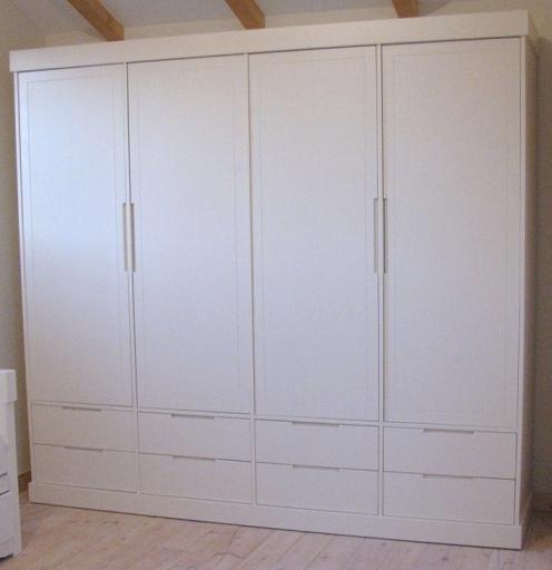 מיוחדים ארון בגדים 4 דלתות דגם אופיר G SLEEPNET - SLEEPNET - ארונות לחדרי AK-86