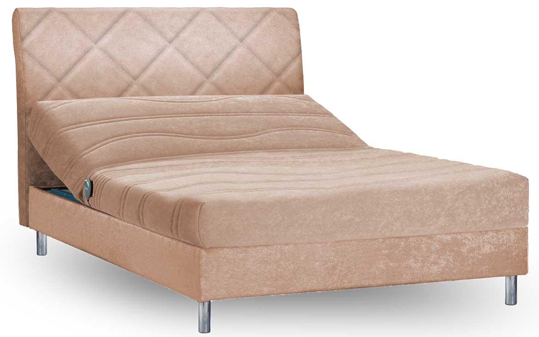 סופר מיטה וחצי עמינח XL BED SILVER דגם סטטוס + ראש מיטה מרופד - עמינח PR-63
