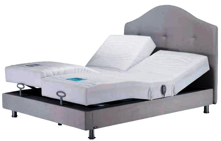 ענק מיטה מתכווננת זוגית דגם טרופיקנה עם מערכת אקטיב מבית עמינח - עמינח KE-93