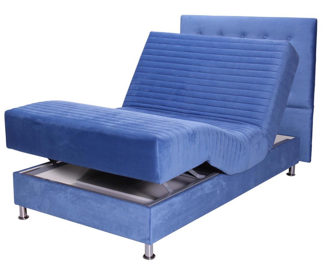 מודרניסטית מיטה ברוחב וחצי מתכווננת דגם קרוסאובר מבית מדיקומפורט - מדיקומפורט VK-13