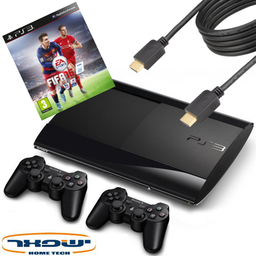 מרענן Sony PlayStation 3+אחריות יבואן רשמי+2 שלטים+משחק לבחירה - Sony KA-52