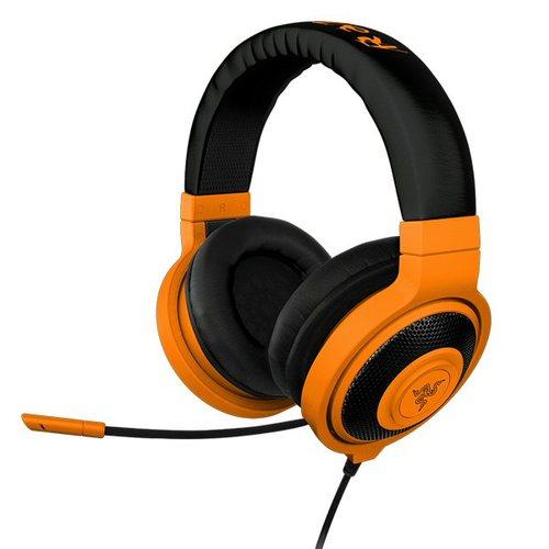 מצטיין אוזניות גיימינג+מיקרופון Razer Kraken Pro Neon כתום - Razer XU-53