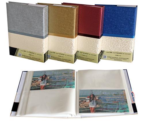 בלתי רגיל אלבום תמונות כיסים 144 תמונות 13X18 - אלבומי כיסים לתמונות NH-84
