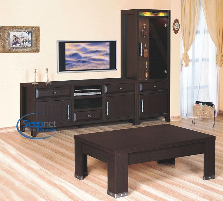 מדהים מערכת סלון דגם M 116 הכוללת מזנון+ויטרינה+שולחן סלון SLEEPNET YI-38