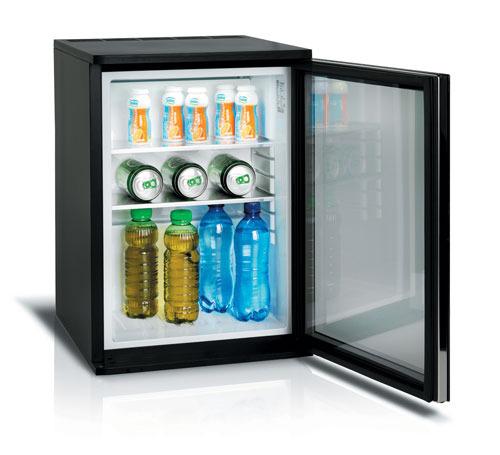 מעולה מקרר מיני בר ספיגה 40 ליטר HC40W דלת זכוכית Vitrifrigo LP-44