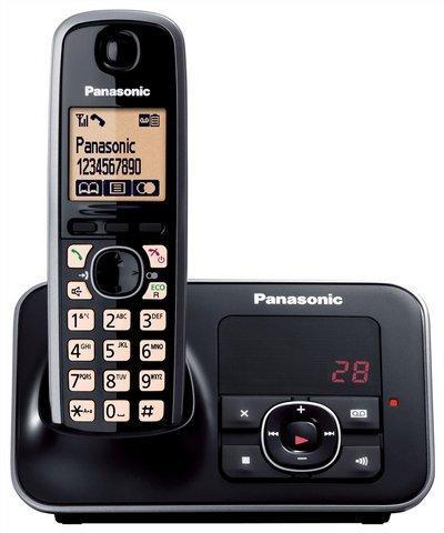 סופר KXTG6621 טלפון אלחוטי+משיבון דיגיטלי פנסוניק בעברית DQ-02