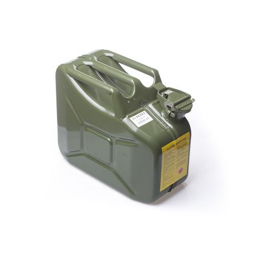 צעיר ג'ריקן מיכל דלק מתכת 10 ליטר - מנשאי מים LA-23