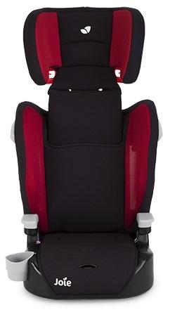 כסא בטיחות ובוסטר אלוויט Elevate בשחור/אדום