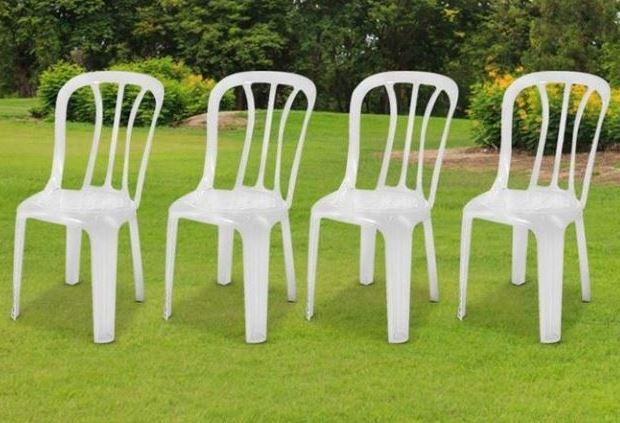 מעולה כסאות פלסטיק - גארדן סייל WM-56