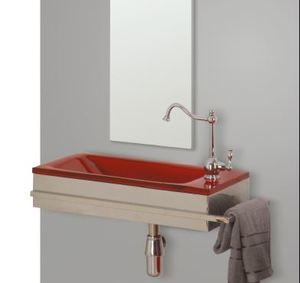 מעולה כיורים לאמבטיה - חומר כיורי אמבט: בטון וטראצו - אביטל דיזיין ZH-41
