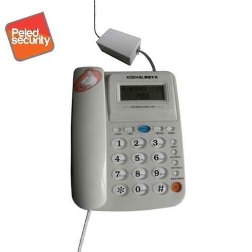 תוספת מכשיר הקלטה קטן ומתוחכם להקלטת שיחות מהטלפון הקווי דגם R560 DT-83