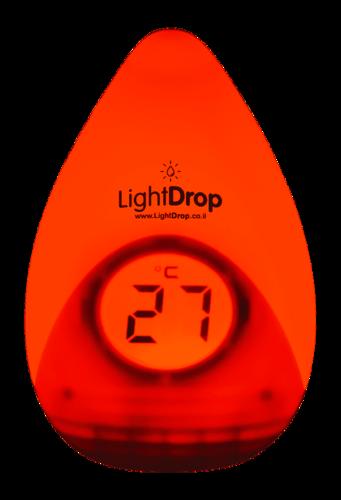 מד טמפרטורה חכם משולב מנורת לילה לחדר ילדים