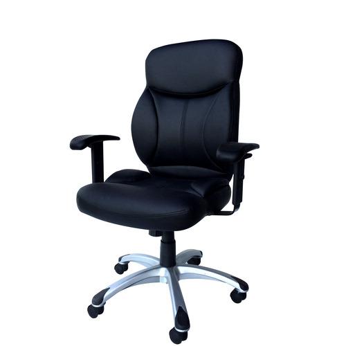 מודרניסטית כיסא מנהלים מדמוי עור PU עם ידיות מתכווננות ומנגנון נדנוד דגם CJ-26