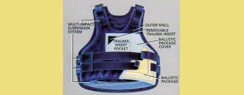 רק החוצה אפוד קרמי מגן וחסין כדורים ורסיסים תיקני מתחת לבגד EG-73