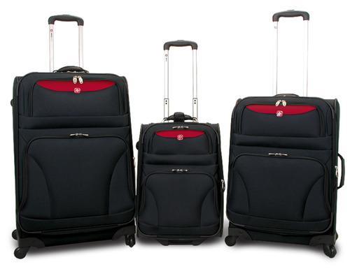 מאוד סט מזוודות טרולי SWISS GEAR,סט מזוודות סוויס גיר ZC-57