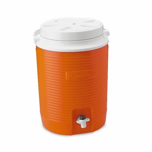 מדהים קולר מיכל מים קשיח לשתיה 7.6 ליטר עם ברז שתיה RUBBERMAIB EE-14