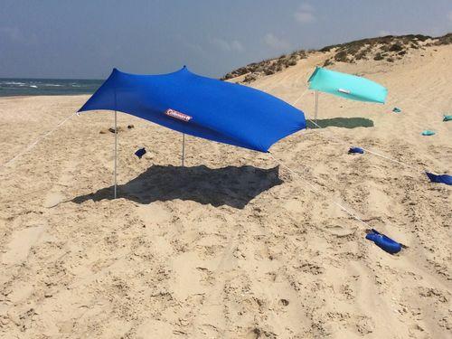 מפוארת צלון חוף לים משפחתי קולמן ל 6-8 אנשים מידה COLEMAN L JL-91