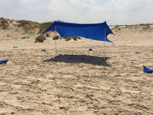 פנטסטי צלון חוף לים משפחתי קולמן ל 6-8 אנשים מידה COLEMAN L AD-67