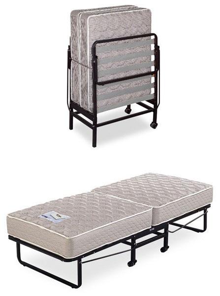 צעיר מיטה מתקפלת + מזרן קפיצים אורטופדי מבית עמינח - עמינח - מיטה מתקפלת AE-55