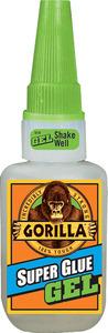דבק סופר גלו ג'ל גורילה חזק במיוחד 15 גרם Gorilla Super Glue
