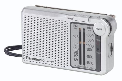 מצטיין טרנזיסטור רדיו מערכת שמע ניידת Panasonic RFP150 פנסוניק AM-FM כולל JH-65