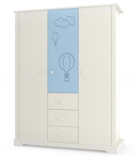 כולם חדשים ארון קאסה 3 דלתות סגל - בייביסטאר רשת חנויות מוצרי תינוקות | עגלות KW-75
