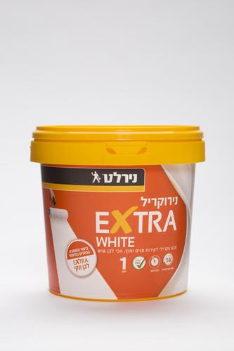 מתוחכם נירוקריל EXTRA WHITE נירלט - נירלט - צבע קירות MP-24