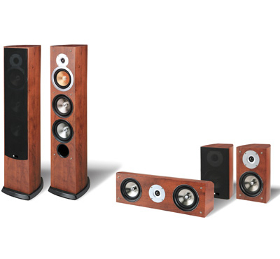 פנטסטי סט 5 רמקולים RB6F Pure Acoustics EI-64