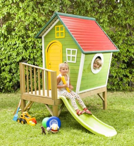 מודיעין בית עץ לילדים בבניה עצמית - הבית של פיסטוק KidKraft - KidKraft VK-02