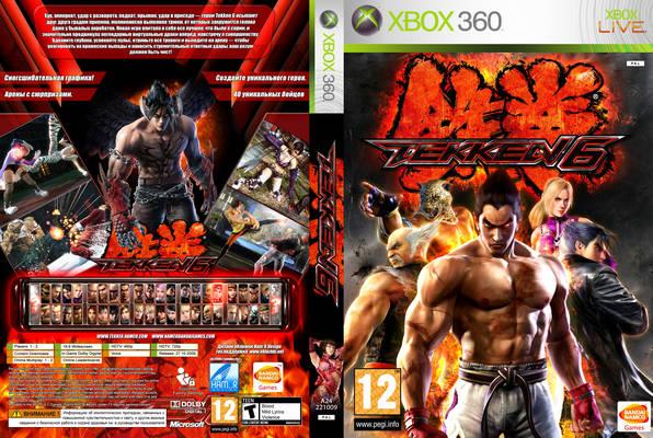 Xbox 360 Tekken 6 משחקים Xbox 360