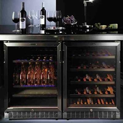 מפוארת מקרר יין אינטגרלי וינטק VINTEC 40 בקבוקים דגם: V40SGES3 DO-24