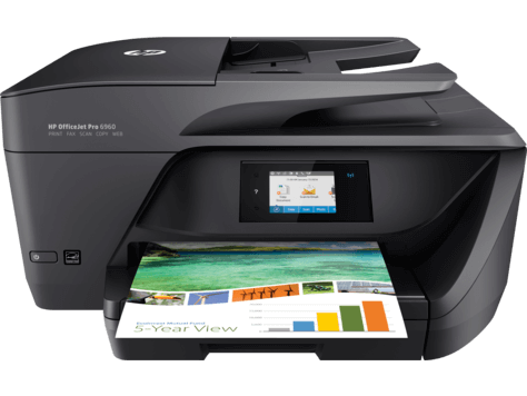 מגה וברק מדפסת הזרקת דיו HP Officejet Pro 6960 J7K33A WO-66