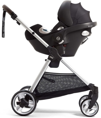 עגלת תינוק ארמדילו פליפ Armadillo Flip XT² בג'ינס חום אגוז
