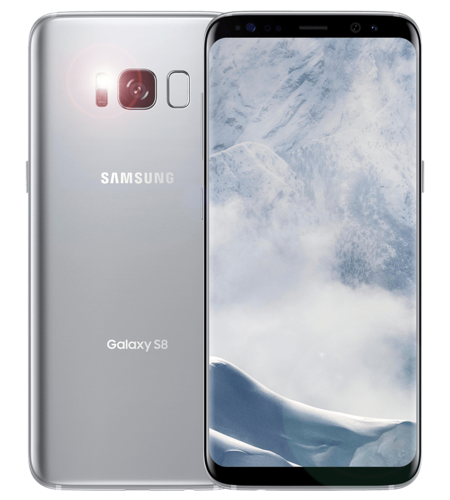 האופנה האופנתית טלפון סלולרי Samsung Galaxy S8 64GB SM-G950FD JT-14