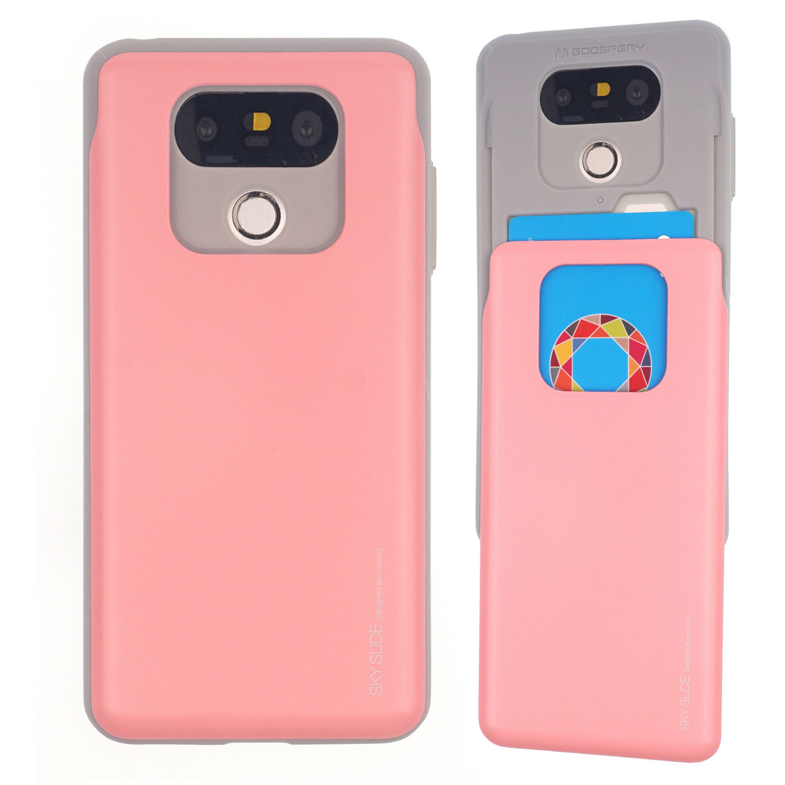 Mercury Jelly Case Lg G6 Pink Sky Slide