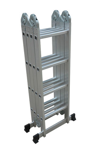 אדיר סולם אלומיניום מפרקים 4.6 מטר מתקפל 4X4 תוצרת KRAUSS | סולמות וציוד ME-79
