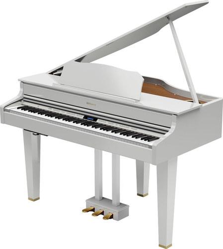 הגדול Roland GP607 Mini Grand White   פסנתרים MG-56