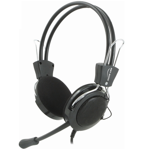 מדהים אוזניות ומיקרופון Silver Line HS-22V SilverLine - SilverLine UL-24