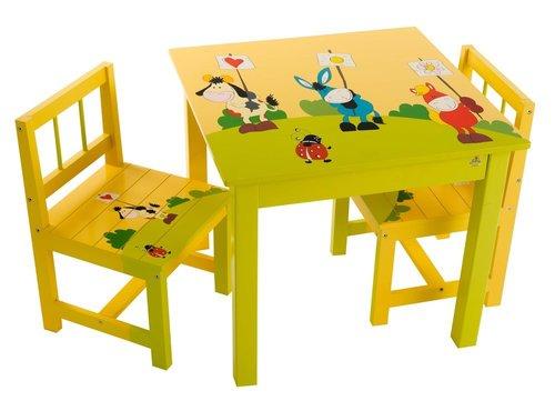 מותג חדש שולחן וכסאות לילדים-מצוייר קוקולה - - שולחן וכסאות YK-66