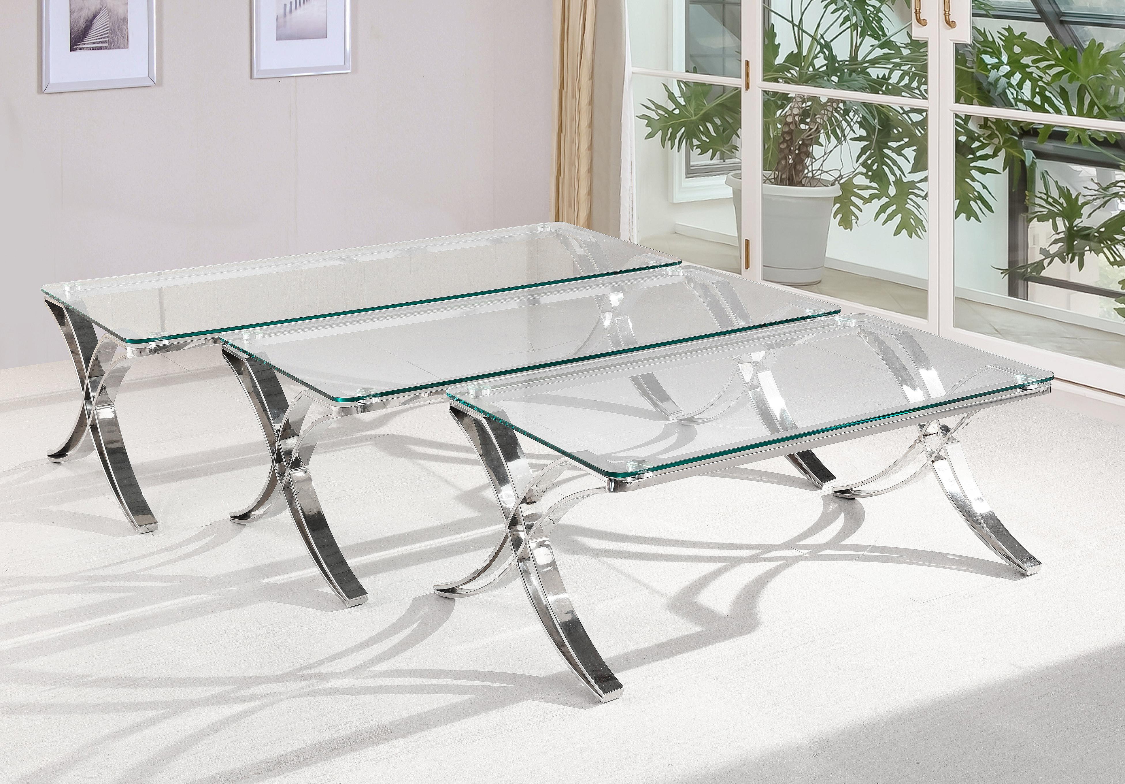 מאוד שולחן סלון זכוכית דגם A 734 SLEEPNET - SLEEPNET - שולחנות לסלון ZM-23