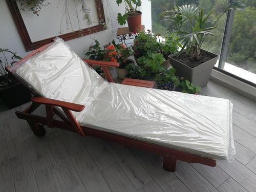 פנטסטי גרדן סייל - Gardensale - מיטת שיזוף יוקרתית מעץ SI-54