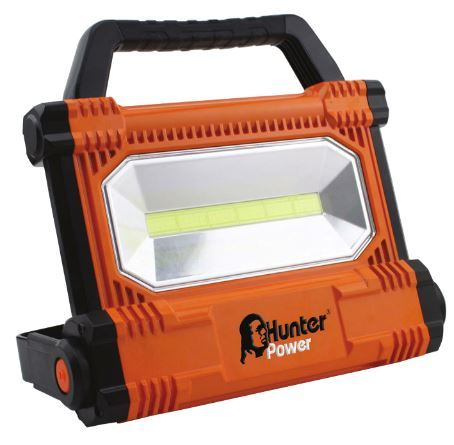 סופר פרוזקטור לד נטען נייד HunterPro COB-LED 30W הנטר - Hunter - תאורה LH-26