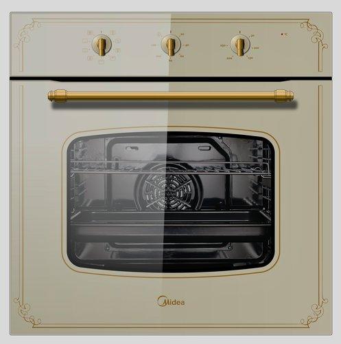 משהו רציני תנור בילד אין שמנת 9 תוכניות MIDEA 65M90M1 דגם 6695 - Midea MM-13