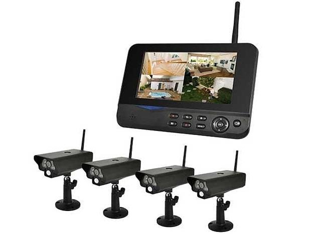 Video vigilancia camera espia