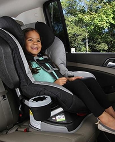 מתקן לכוס או בקבוק עם גומי פנימי לכיסאות בטיחות