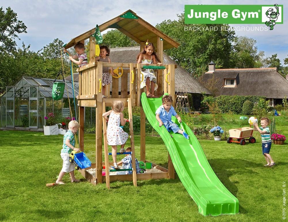 מרענן מתקני חצר לילדים   משחקי חצר לילדים   mygan - יצרן: JUNGLE GYM TO-78